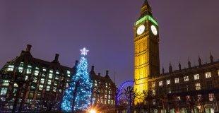 Лондон - на Коледа в Европа