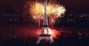 Коледното настроение на Париж (без нощни преходи)
