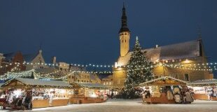 Екскурзия в ЕСТОНИЯ – Коледни базари в Талин – най-добрият коледен базар в Европа за 2019 г.! С директен чартърен полет и обслужване на български език! По желание посещение на Хелзинки, Финландия!