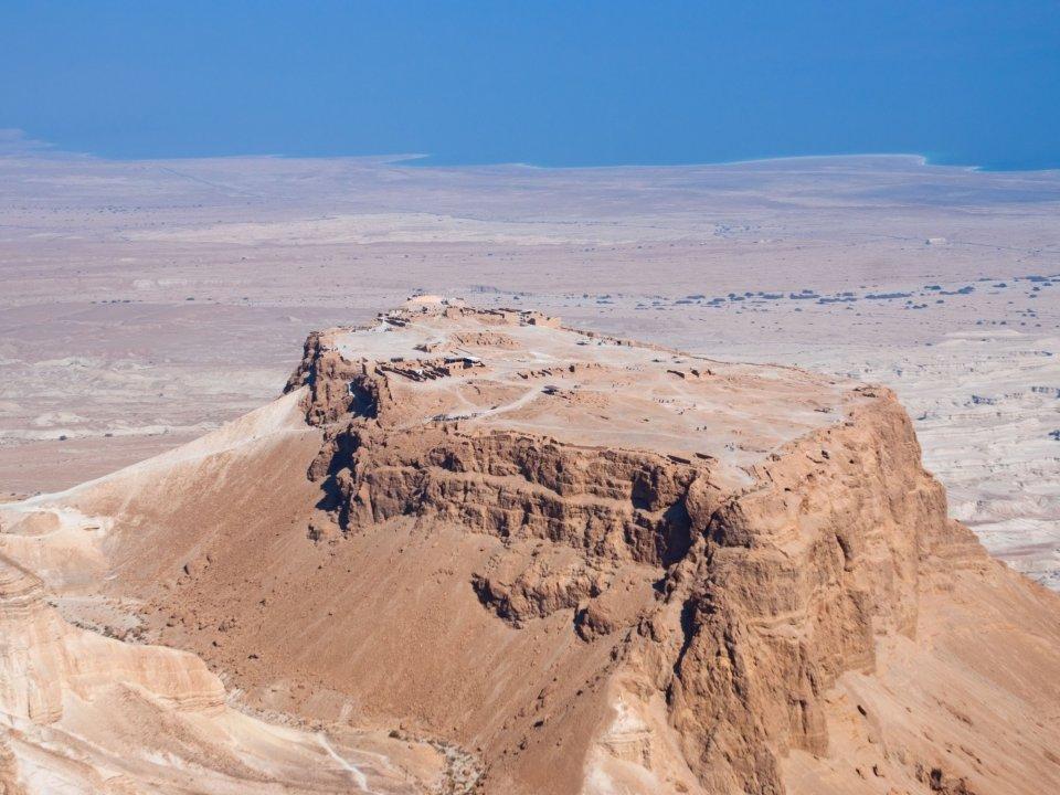 "Крепостта ""Масада"" – Израел :: Туристически обекти | Бохемия"